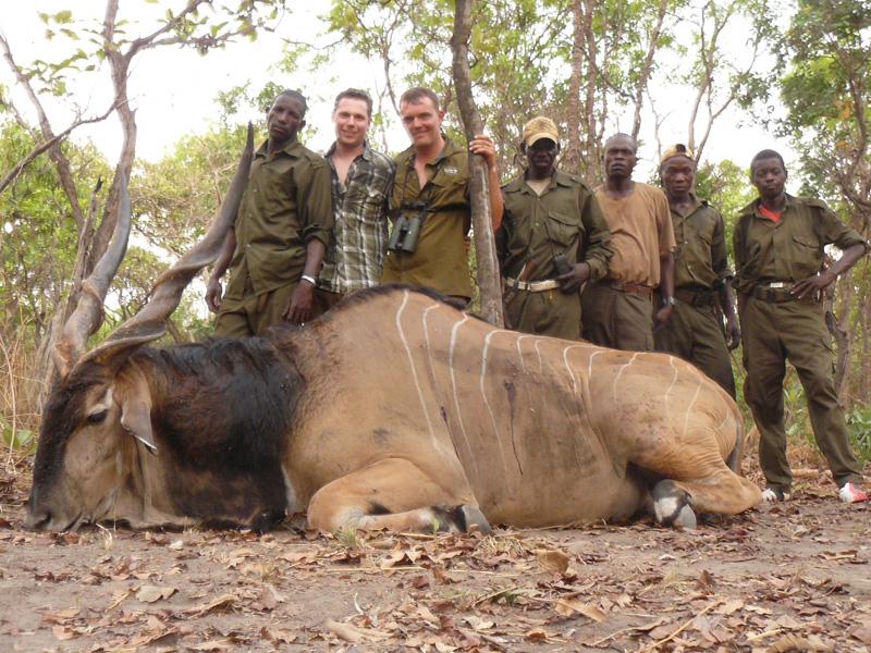 Kamerun vadászat