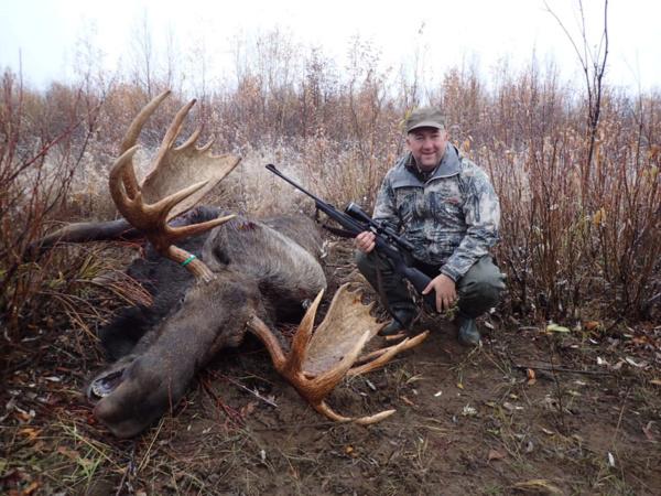 Alaszka jávorszarvas vadászat
