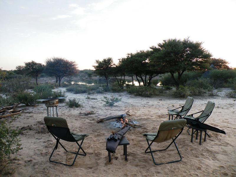 antilop vadászat Botswana