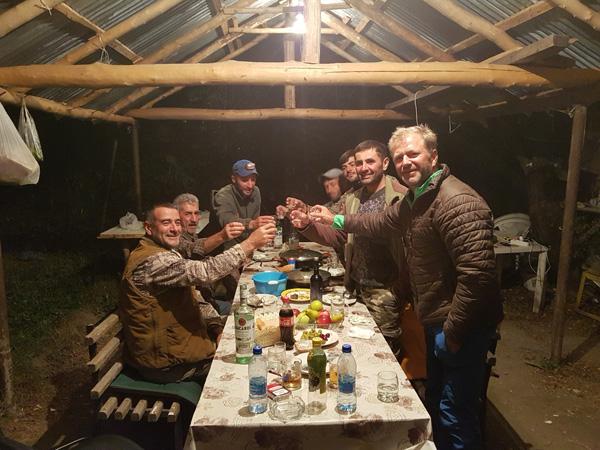 Azerbajdzsán dagesztán túr vadászat