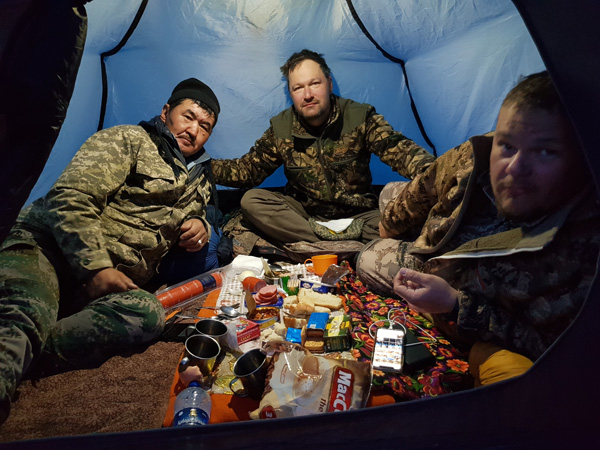 Vadászat Kazahsztánban