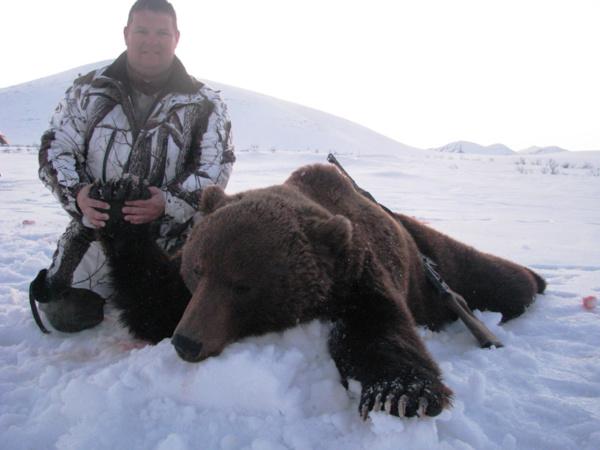 Kamcsatka Barnamedve vadászat