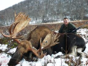 Kamcsatka Jávorszarvas vadászat