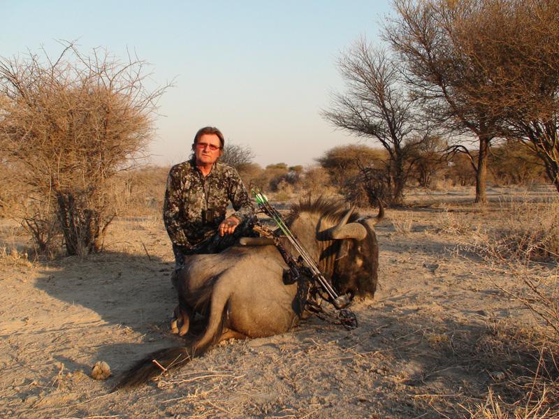 Namíbia vadászat íjjal
