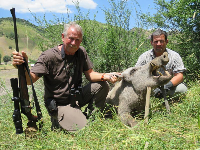 Tádzsikisztán vadkan vadászat