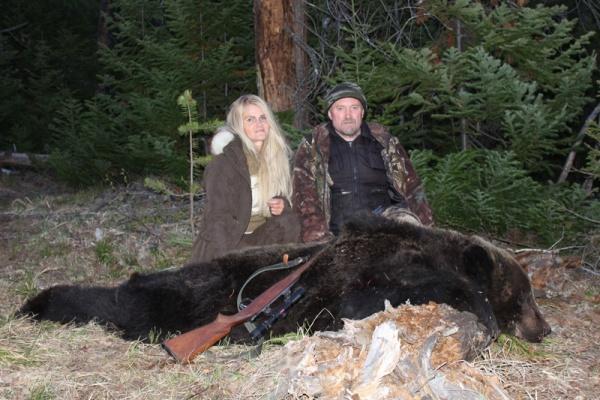 Oroszország, barnamedve, Burjátföld