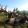 Kanada, British-Columbia, hegyi karibu vadászat