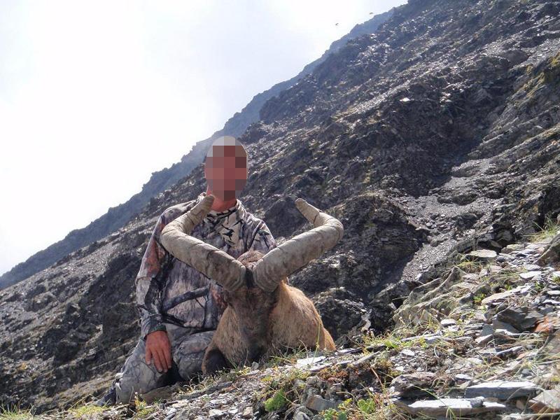 Oroszország, túr vadászat