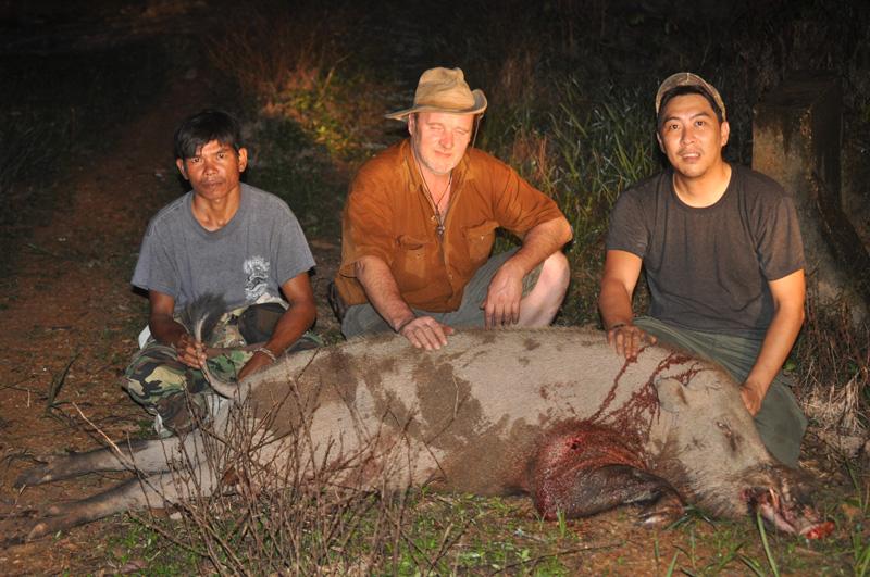 Vízibivaly, szakállas disznó és egzotikus szarvasfélék vadászatát kínáljuk Malajziában