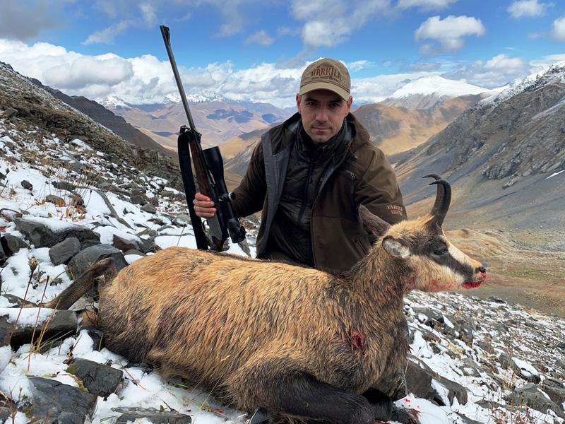 Kaukázusi zerge vadászat Oroszországban